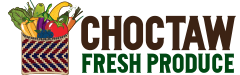 Choctaw Fresh Produce Sticky Logo
